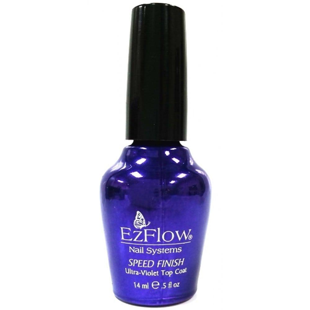 Ez Flow Speed Finish Ultra-Violet Top Coat - Border Beauty ...